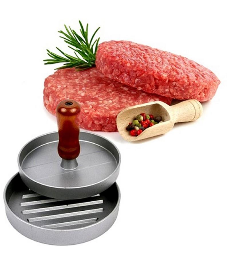 Пресс для гамбургеров - алюминиевый, диаметр 12см. НОВИНКА!