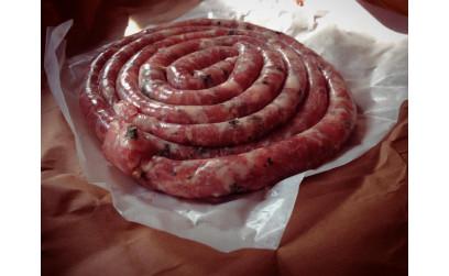 Итальянская колбаса с проволоне и петрушкой