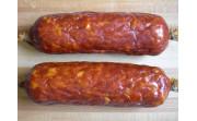 Рецепт Копченой колбасы из 3-х видов свинины