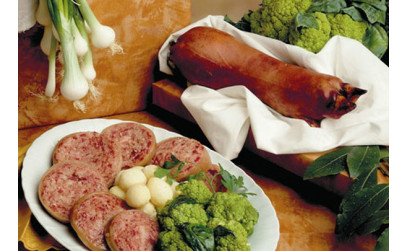 Итальянская колбаса дзампоне